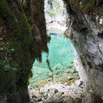 Blick zum Fluss Mrtvica in Montenegro