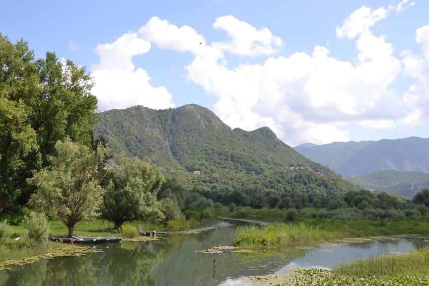Ausläufer Des Skutari See