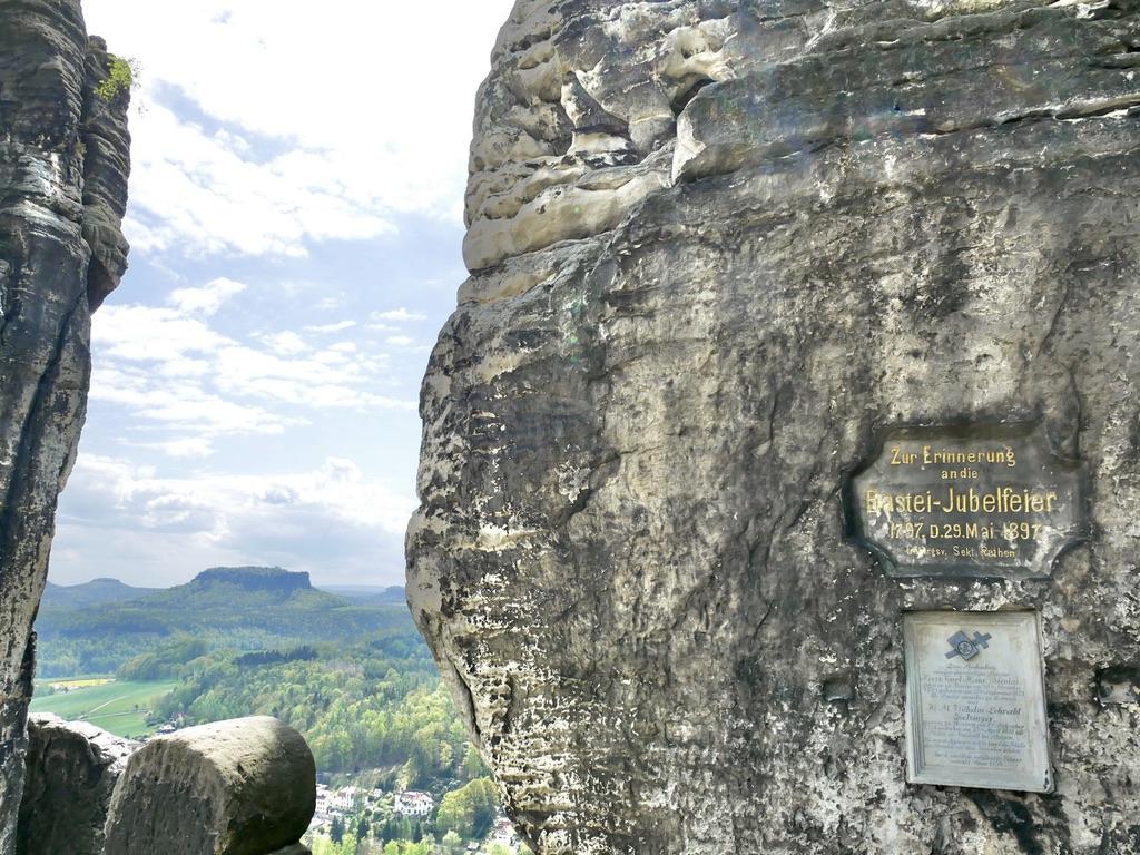 Denkmal Auf Der Bastei