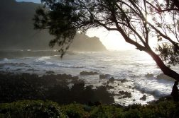 geführte Wanderreise Kanaren Bucht mit tosenden Wellen