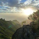 geführte Wanderreise Teneriffa Abendstimmung über den Bergen