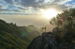 geführte Wanderreise Kanaren Abendstimmung auf Teneriffa