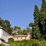 in der Alhambra in Granada Andalusien