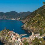 Blick auf Cinque Terre Ort