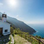 Kapelle an der Cinque Terre Küste