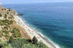 geführte Wanderreise Andalusien am Strand bei Nerja
