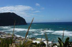 Blick auf den Strand von Forio