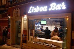 Bar in Lisssabon