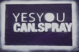 yes you can Graffiti