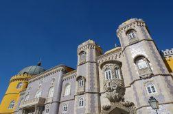 geführte Wanderreise Portugal Schloss in Sintra