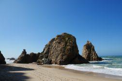 geführte Wanderreise Portugal Spuren am Strand