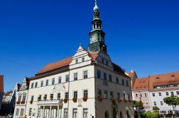 geführte Wanderreise Sächsische Schweiz Rathaus Pirna