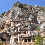 Felsengräber in Myra Lykische Küste