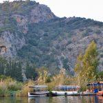 Wanderreise Türkei Felsengräber in Myra Lykische Küste