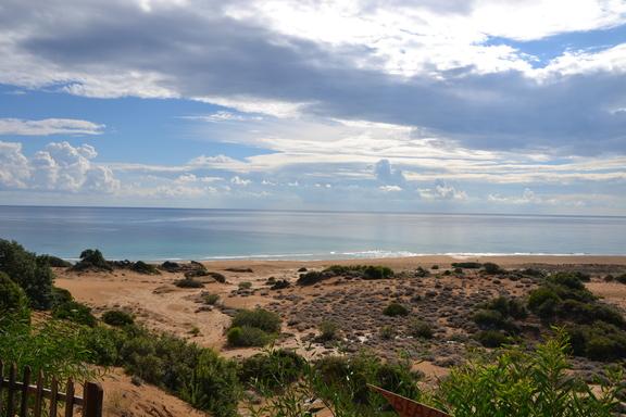Wanderreise Nordzypern herrlicher Sandstrand auf unserer Wanderung