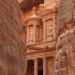 Gebäude in der Felsenstadt Petra