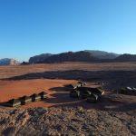 Wanderreise Jordanien Zeltlager in der Wüste