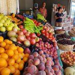 Marktstand mit Obst