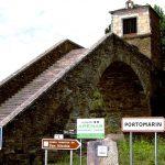 Frauenwanderreise Jakobsweg die zweite Station Portomarin alte Brücke